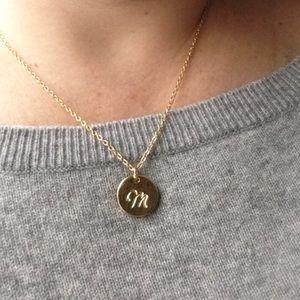 Jewelry - CUSTOM CURSIVE INITIAL PENDANT NECKLACE